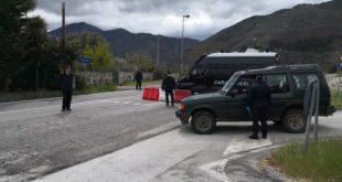 Presenzano / Sesto Campano – Nevica, in 15 violano la zona rossa: arrivano i carabinieri e multano