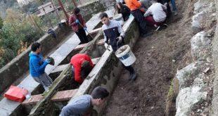 TEANO – Casamostra Rinasce e l'antico lavatoio risorge (le foto)
