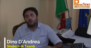 TEANO – Coronavirus, il sindaco Dino D'Andrea è positivo