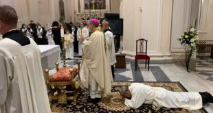 ALIFE / RAVISCANINA – Chiesa, Carlone è diventato diacono