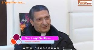 "VAIRANO PATENORA – Don Luigi De Rosa festeggia le ""nozze"" d'argento"