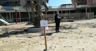 Castel Volturno – Blitz della Finanza sul litorale: sequestrati 10 lidi balneari