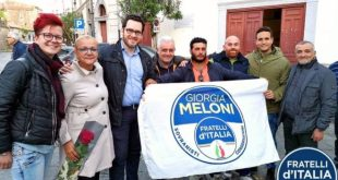 CARINOLA – Comunali, Fratelli D'Italia organizza la lista