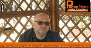 Capua / Pignataro Maggiore – Nuroll, sindacalista scomodo licenziato per procurato allarme: la storia di Gianluca (il video con l'intervista)