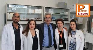 il team dell'Unità di Neurobiologia dei Disturbi del Movimento Neuromed