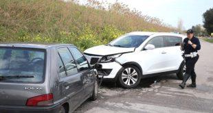 AILANO / VENAFRO – Scontro sulla provinciale, donna ferita