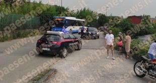 Piedimonte Matese – Scooter contro auto, ferito 20enne