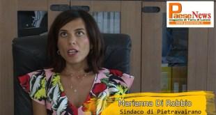 Pietravairano – Municipio, Di Robbio è sindaco da un anno: il suo bilancio (guarda il video con l'intervista)