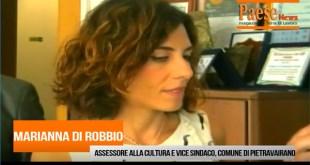 Pietravairano – Comune, nominato il nuovo assessore: è la figlia di Di Robbio. Diventa anche vice sindaco (il video con l'intervista)