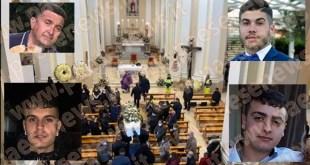 Mignano Montelungo – Tragedia di Pasqua, oggi i funerali di Claudio, Matteo, Luigi e Carlo