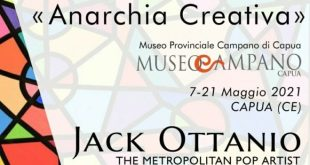 "Capua – Mostra ""Anarchia Creativa"", l'arte contemporanea in un contesto museale"