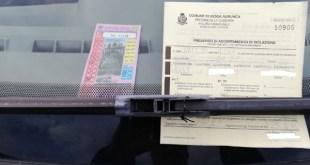 Sessa Aurunca – Furbetti del parcheggio, falsificano tagliandi per evitare multe