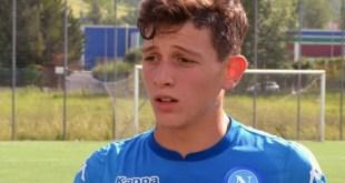 MARCIANISE – Calcio, settore giovanile: il difensore Pontillo firma per il Napoli