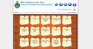 Piedimonte Matese – Archivio Albo Pretorio non esiste: vuoto, mai aggiornato. Trasparenza è utopia. Oltre le chiacchiere il nulla
