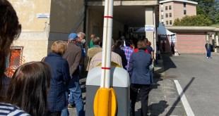 Piedimonte Matese – Centro vaccinazione, caos allo stato pure. Non si rispettano nemmeno le norme anti covid19