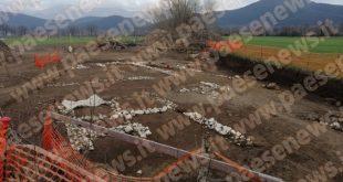 PIETRAVAIRANO  – Scoperto un antico villaggio, strade e tombe: Soprintendenza al lavoro (le foto)