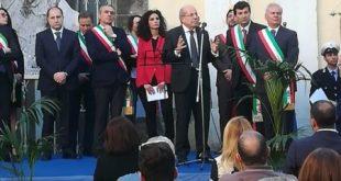PIGNATARO MAGGIORE – Consegna della medaglia d'argento alla città per le vittime delle rappresaglie naziste