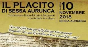 Sessa Aurunca – Placito di Sessa Aurunca, l'italiano nacque in queste terre. Sabato la kermesse con il prof. Francesco Sabatini