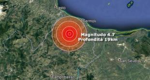 CASERTA / CAMPOBASSO / MATESE – Terremoto, tredici scosse in poche ore