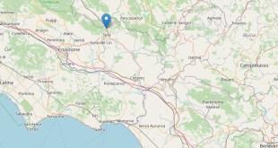 Sora – Terremoto, 21 scosse in poche ore: la più violenta di 3.4