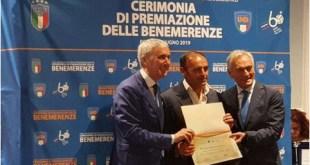 Teano – Calcio, Lo Zupo Teano premiato a Roma per i suoi 50 anni di attività
