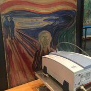 L'Urlo di Edward Munch sotto le macchine dei ricercatori