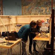 I ricercatori del Cnr Molab al museo Edward Munch di Oslo
