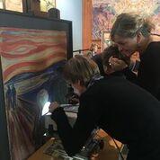 Museo Munch a Oslo durante la ricerca sul campo