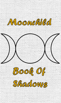 Moonchild Book of Shadows Logo