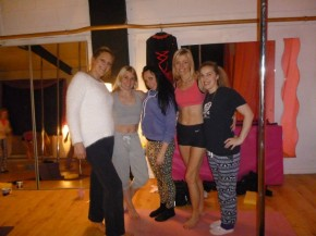 Pagan's Pole attend Felicity Logan MasterClass at The British Pole Dance Academy in Stoke