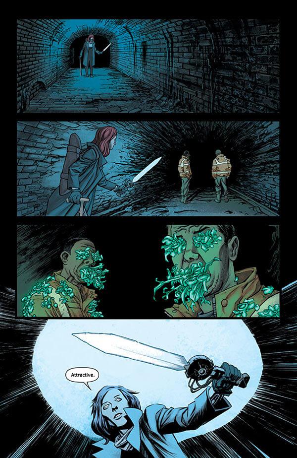 Resultado de imagem para the injection comic