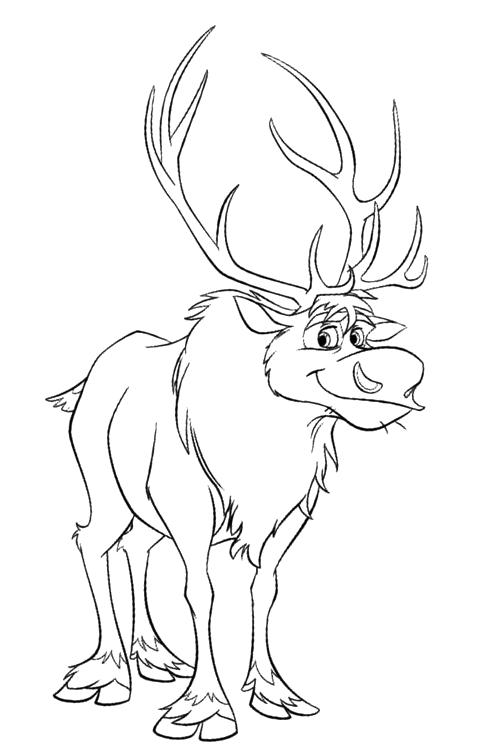 Frozen The Reindeer Sven