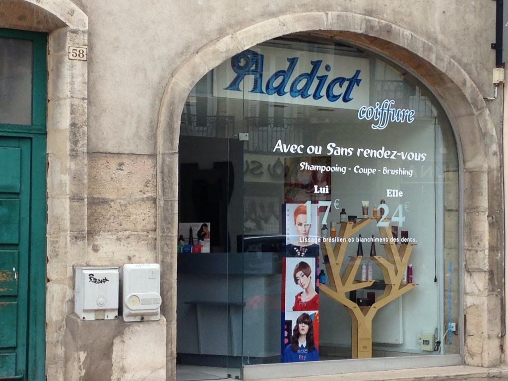 addict coiffure dijon coiffeur