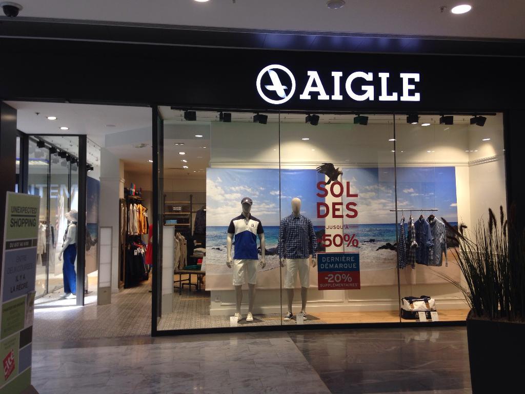 boutique aigle velizy 2 velizy