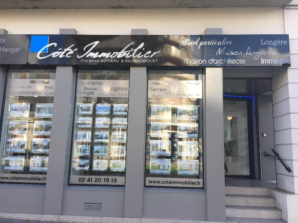 cote immobilier angers agence
