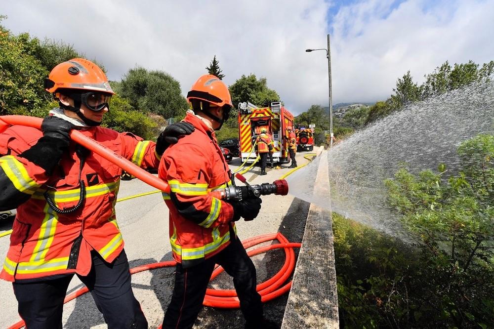 Les Sapeurs-Pompiers de Monaco prêts à intervenir en forêt