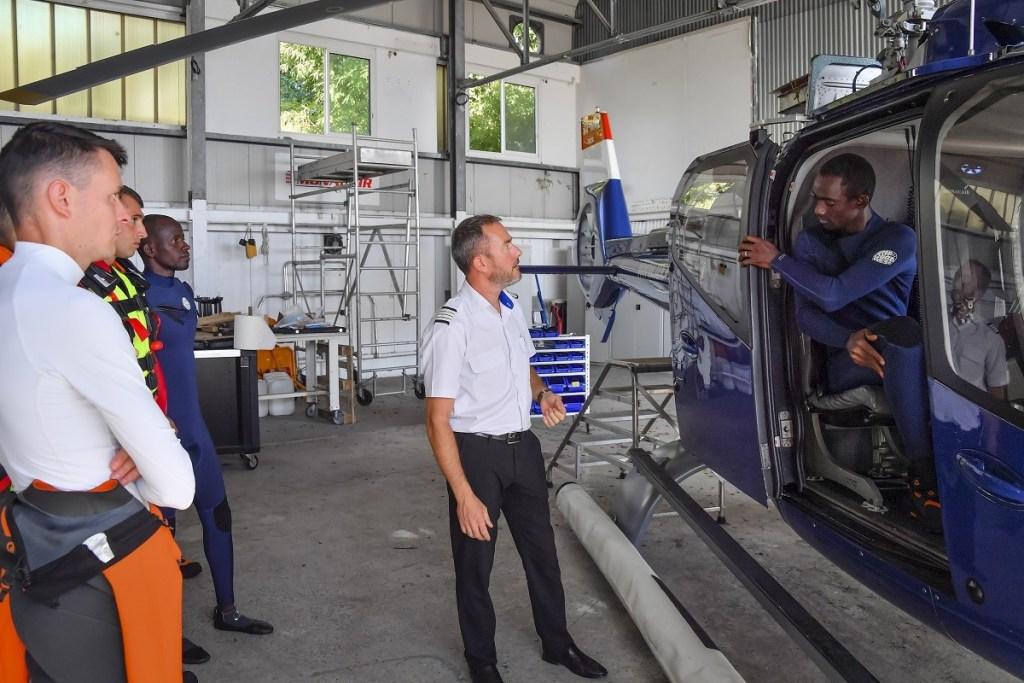 Protection civile : deux Sapeurs-Pompiers maliens en formation en Principauté