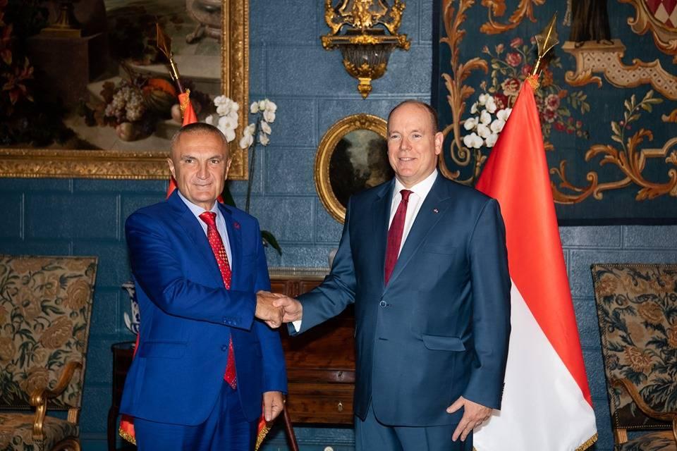 Visite officielle du Président albanais à Monaco