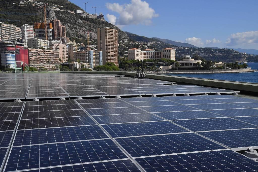 Un point sur le parc solaire monégasque