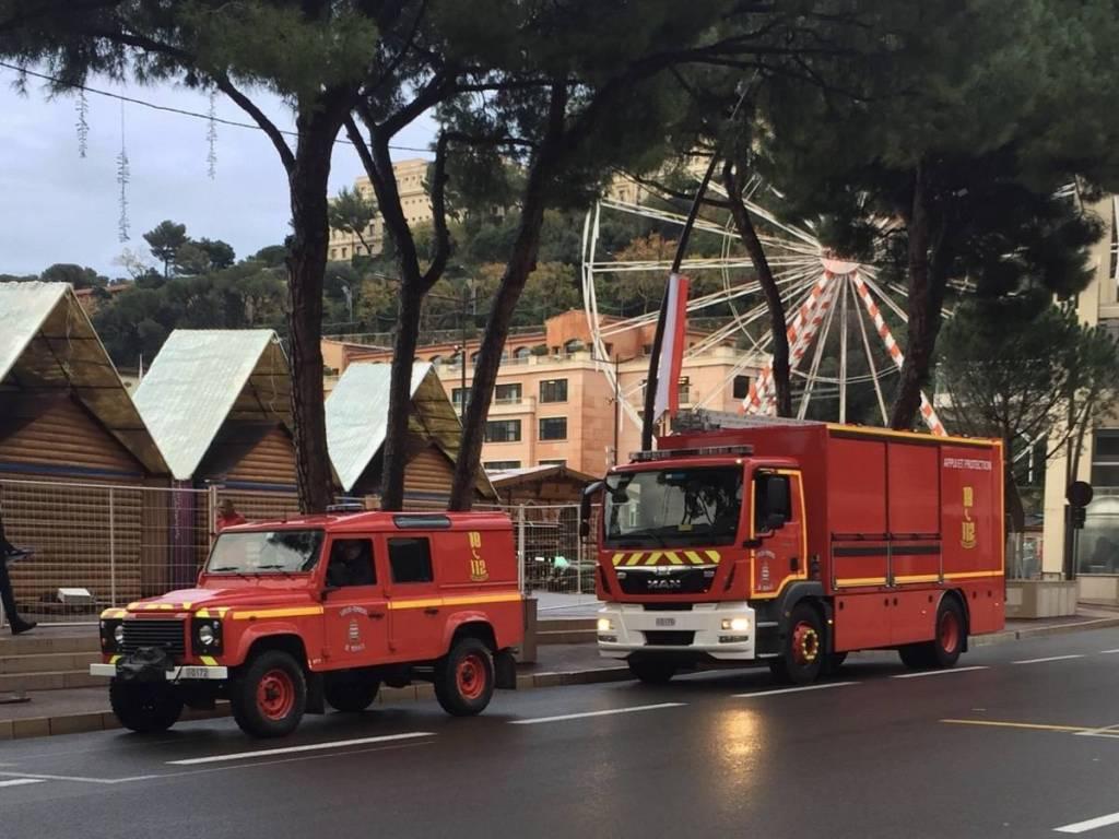 Les Pompiers de Monaco en renfort dans les Alpes-Maritimes