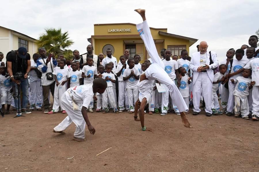 AMADE : la capoeira pour soutenir les enfants victimes du Congo