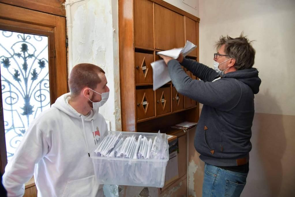La Mairie De Monaco distribue les masques à la population