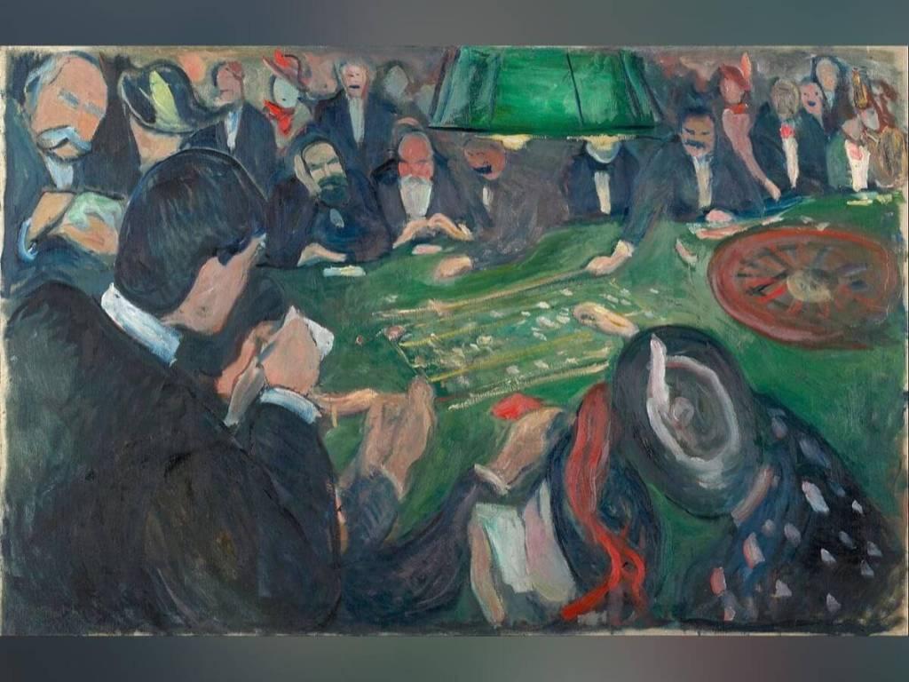 Les Cartes, La Roulette et l'Art
