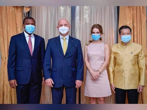 Diplomatie : de nouveaux Ambassadeurs accrédités Géorgie – Afrique du Sud – Thaïlande