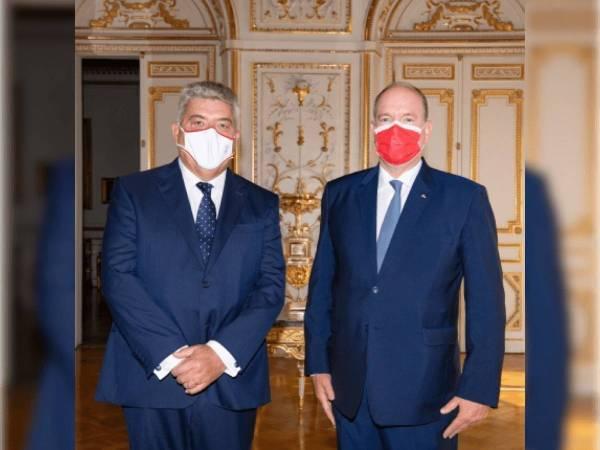 Le Prince Albert II fixe la feuille de route du nouveau Ministre d'Etat