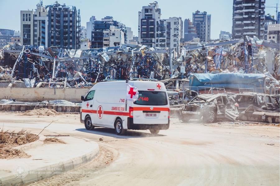 Le point sur l'aide apportée par la Croix-Rouge monégasque après les explosions à Beyrouth
