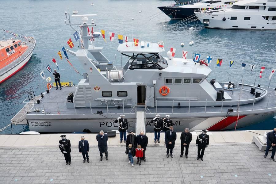 «Princesse Gabriella» : la nouvelle navette de la police maritime