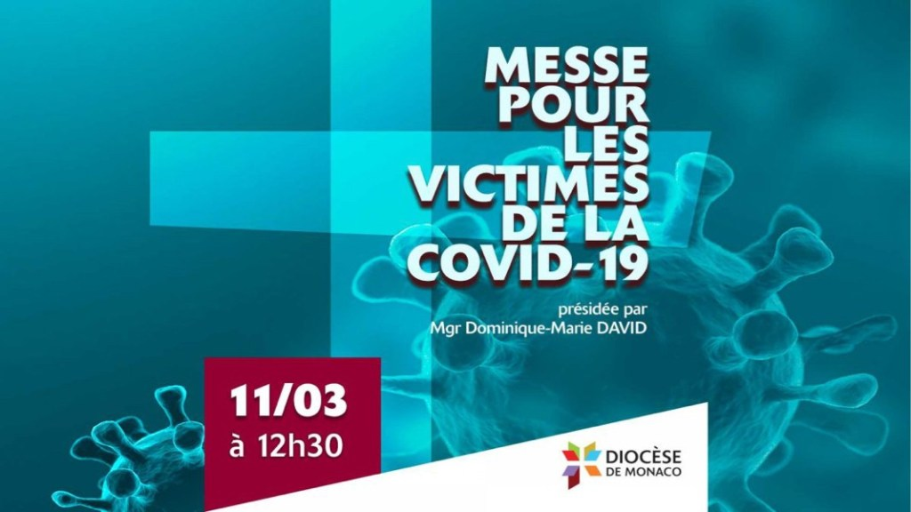 [A la une]  Une messe pour les victimes de la Covid-19