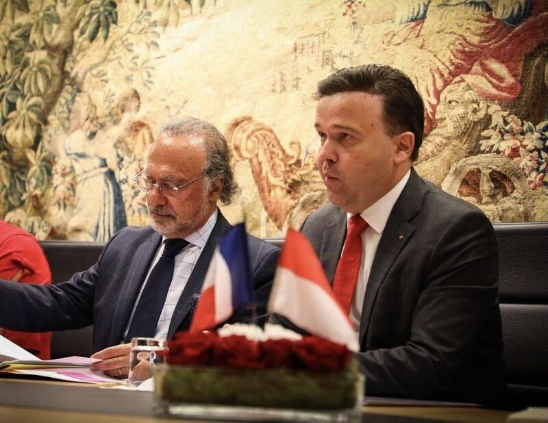 Le Président du Conseil National salue la mémoire d'Olivier Dassault