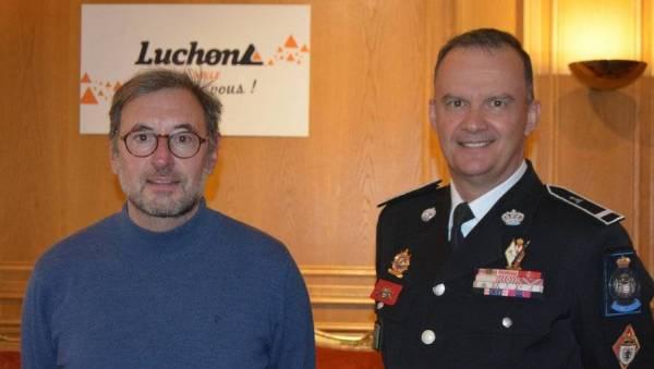 Les Carabiniers du Prince resserrent les liens entre Monaco et Luchon